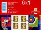 View enlarged 'Self Adhesive: Olympic Games: Book No. 1' Image.