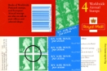 Window: Airmail: £2.52 (new Airmail labels)