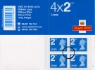 Self Adhesive: Security Features: 4 x 2nd Large