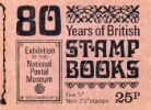 Stitched: New Design: 25p 80 Years of Stamp Books
