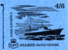 Stitched: New Design: 4s 6d Ships 4 (QE2)