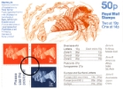 Vending: New Design: 50p Marine Life 2 (Crab)