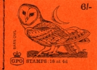 Stitched: New Design: 6s Birds 5 (Barn Owl)