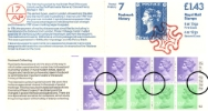 Counter: New Design: £1.43 Postal Hist. 7 (Postmarks)