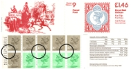 Counter: New Design: £1.46 Postal Hist. 9 (Parcel Post)