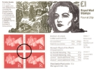 Vending: New Design: £1 World War II 1 (Violette Szabo)