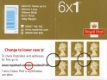 Click to view all covers for Self Adhesive: Security Features: 6 x 1st