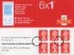 Click to view all covers for Self Adhesive: Red Iridescent Overprint: 6 x 1st