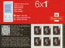 Self Adhesive: Penny Black: 6 x 1st