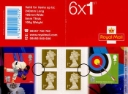Self Adhesive: Olympic Games: Book No. 1