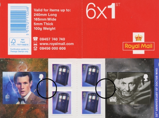 : Doctor Who Stamp Book