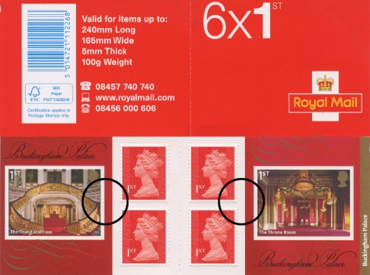 : Buckingham Palace Stamp Book