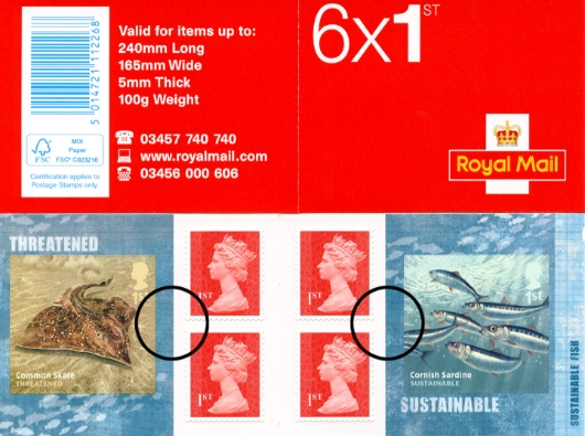 : Sustainable Fish Stamp Book