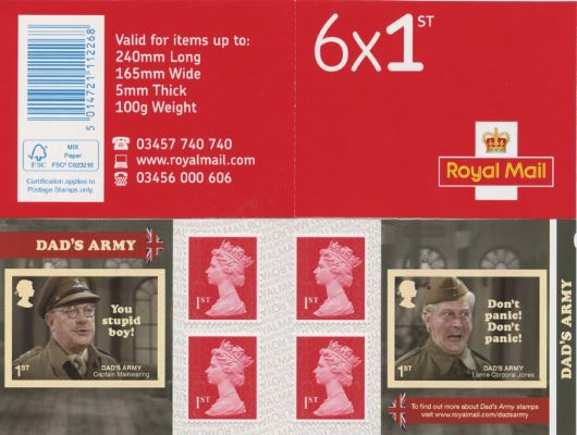 : Dad's Army Stamp Book