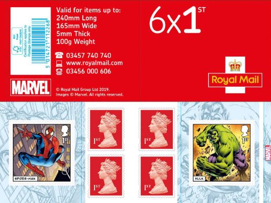 : Marvel Stamp Book