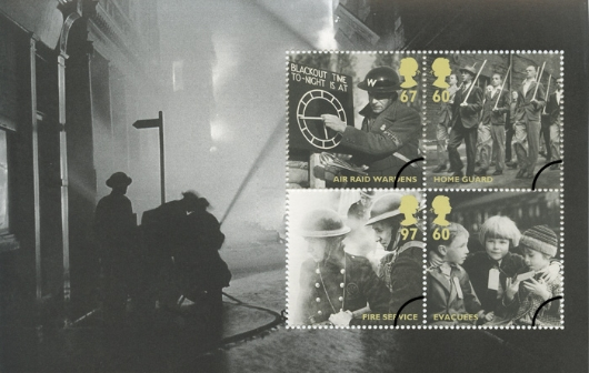 Prestige Stamp Book: Britain Alone - Pane 3