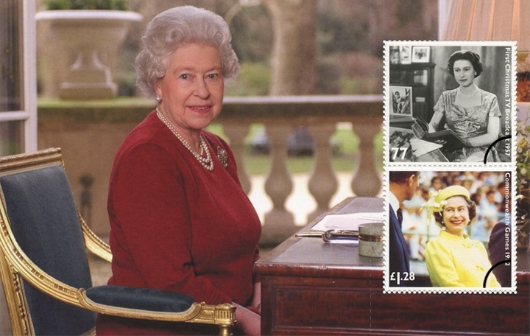 Prestige Stamp Book: Diamond Jubilee - Pane 4