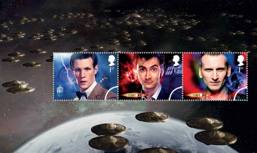 Prestige Stamp Book: Doctor Who - Pane 2