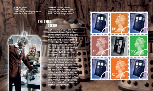 Prestige Stamp Book: Doctor Who - Pane 5