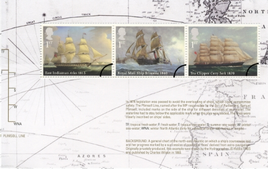 Prestige Stamp Book: Merchant Navy - Pane 2