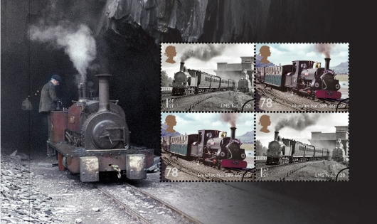 Prestige Stamp Book: Classic Locomotives - Pane 5