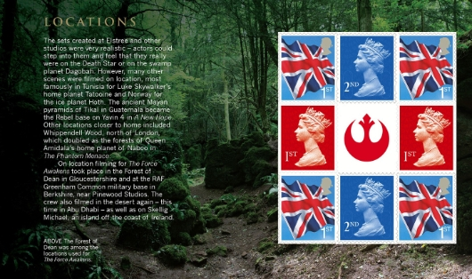 Prestige Stamp Book: Star Wars - Pane 4