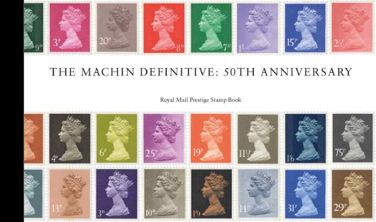 Prestige Stamp Book: Machin Design Icon
