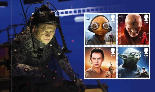 Prestige Stamp Book: Star Wars Last Jedi  - Pane 4
