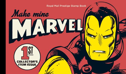 Prestige Stamp Book: Marvel