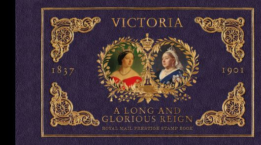 Prestige Stamp Book: Queen Victoria