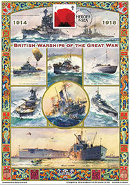 43683 | 14.05.2015 - British Warships of the Great War | The Great War | $33.75