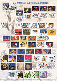 44699 | 03.11.2015 - 50 Years of Christmas Stamps (Part 3) | Christmas 2015 | £22.50