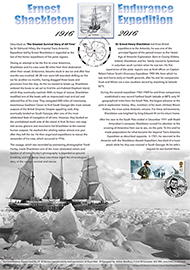 44767 | 07.01.2016 - British Explorers | Shackleton and the Endurance Expedition | £22.50