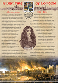 45143 | 02.09.2016 - Charles II & Samuel Pepys | The Great Fire of London | £22.50