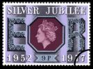 View enlarged 'Silver Jubilee:  9p' Image.
