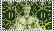 View enlarged 'Queen's Stamps: £1 Coronation' Image.