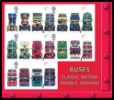 View enlarged 'Double Decker Buses: Miniature Sheet' Image.