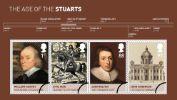 View enlarged 'The Stuarts: Miniature Sheet' Image.