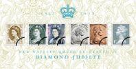 View enlarged 'Diamond Jubilee: Miniature Sheet' Image.