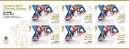 View enlarged 'Canoe Slalom - Men's Canoe Double: Olympic Gold Medal 3: Miniature Sheet' Image.