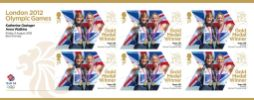 View enlarged 'Rowing - Women's Double Sculls: Olympic Gold Medal 6: Miniature Sheet' Image.