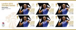 View enlarged 'Boxing - Women's Fly Weight: Olympic Gold Medal 24: Miniature Sheet' Image.