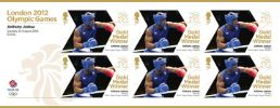 View enlarged 'Boxing - Men's Super Heavy Weight: Olympic Gold Medal 29: Miniature Sheet' Image.