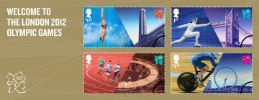 View enlarged 'Welcome to the London 2012 Olympic Games: Miniature Sheet' Image.