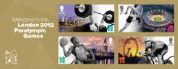 View enlarged 'Welcome to the London 2012 Paralympic Games: Miniature Sheet' Image.