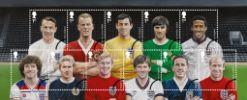 View enlarged 'Football Heroes: Miniature Sheet' Image.