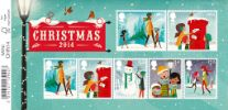 View enlarged 'Christmas 2014: Miniature Sheet' Image.