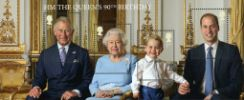 View enlarged 'H M The Queen's 90th Birthday: Miniature Sheet' Image.