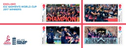 View enlarged 'Women's Cricket World Cup: Miniature Sheet' Image.