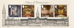 View enlarged 'Palace of Westminster: Miniature Sheet' Image.